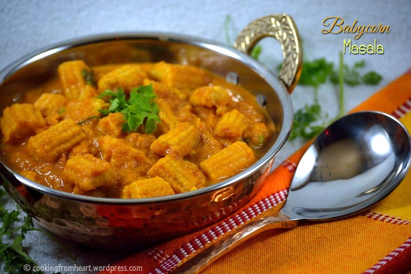 Babycorn Masala| Easy Side Dishes