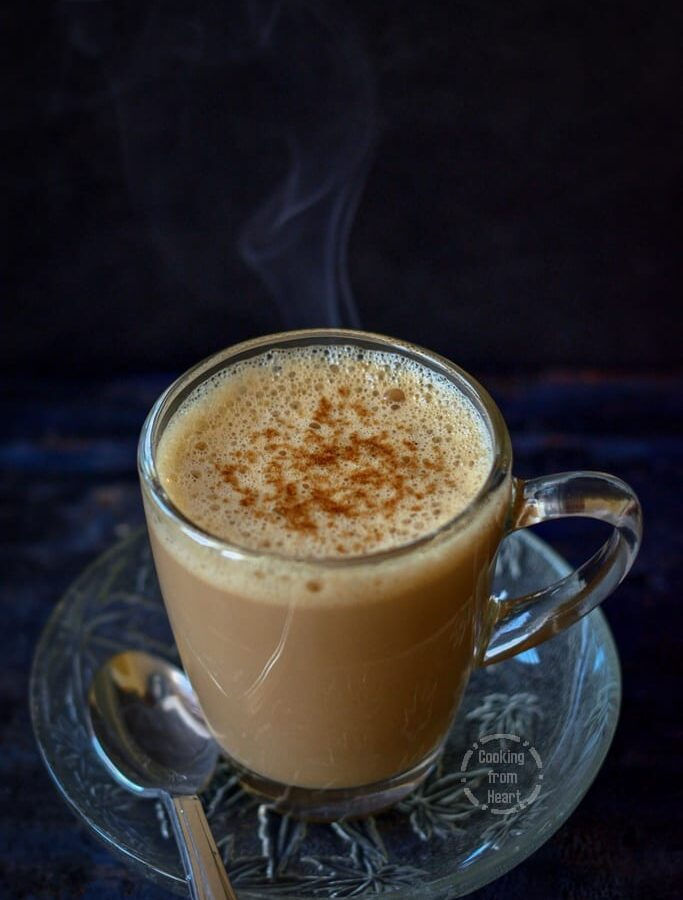 Vanilla Latte | Homemade Vanilla Coffee Latte