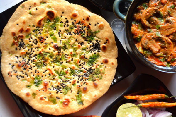 Instant Whole Wheat Kulcha