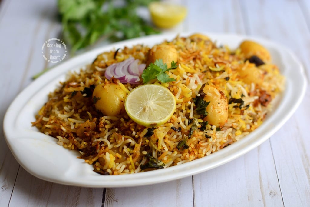Quick Dum Biryani recipe