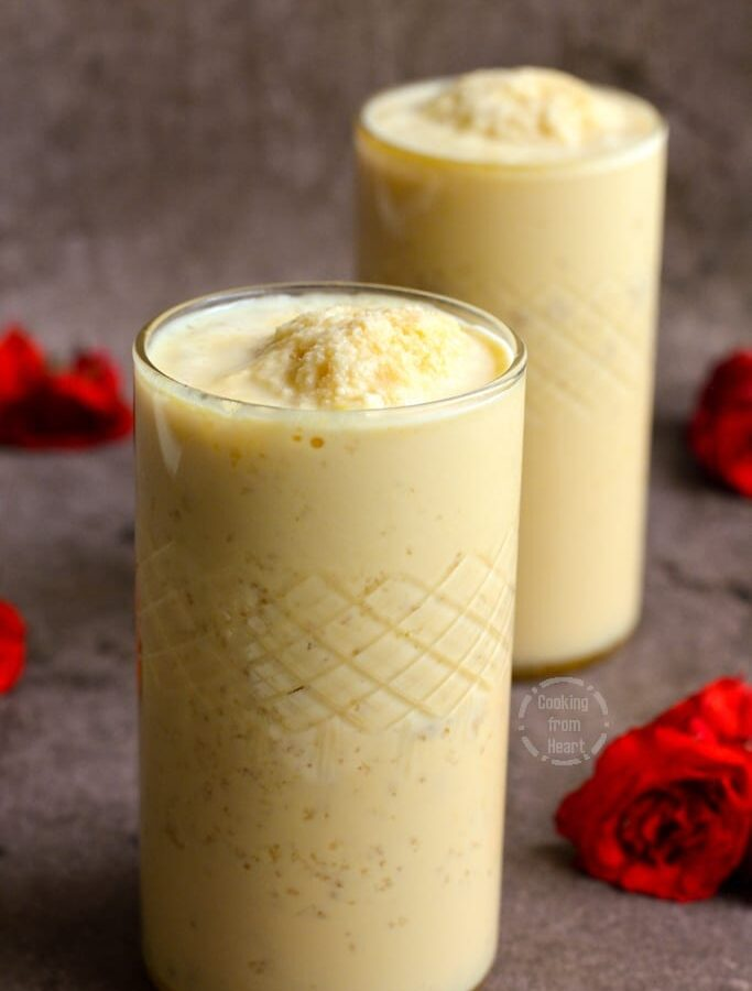 Homemade Jigarthanda recipe