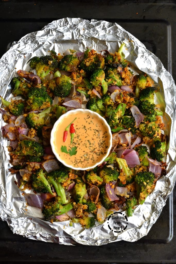 Crispy Garlic Roasted Broccoli