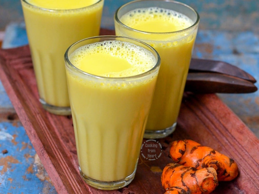 Turmeric Milk | Golden Turmeric Latte