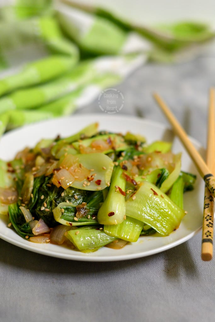 Stir-Fried Bok Choy with Garlic
