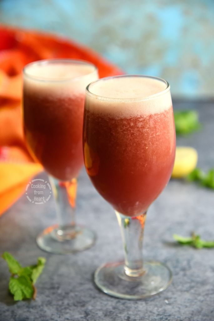 Orange Pomegranate Mocktail
