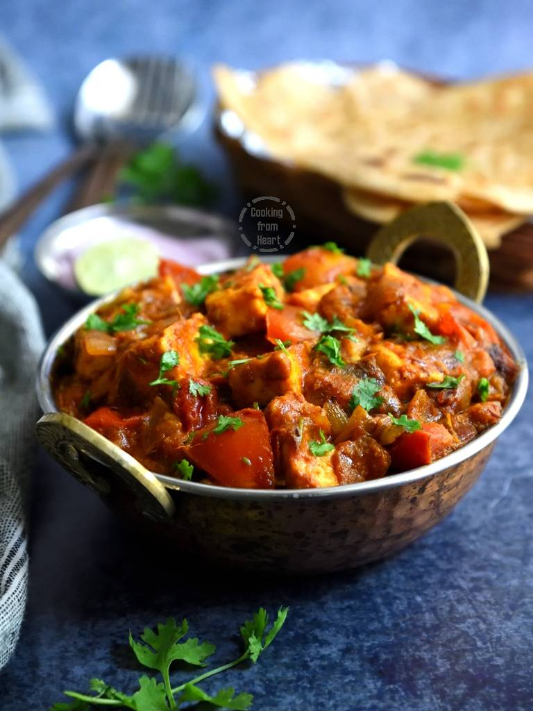 Tomato Paneer Curry
