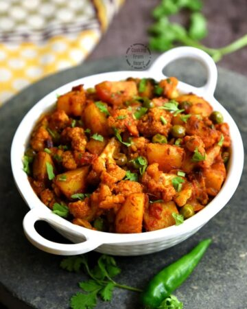 How to make Aloo Gobi Matar