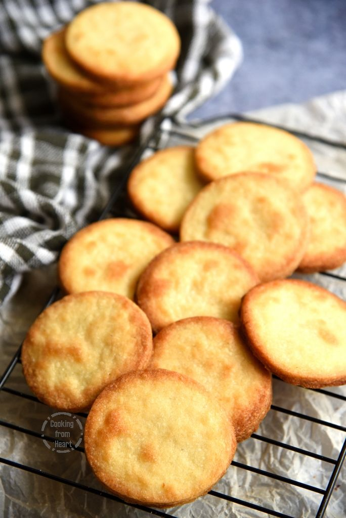 Eggless Cardamom Biscuits