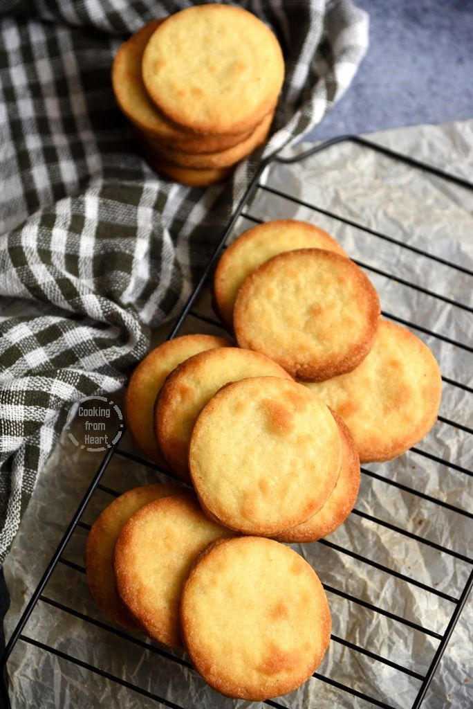 Homemade Cardamom Biscuits