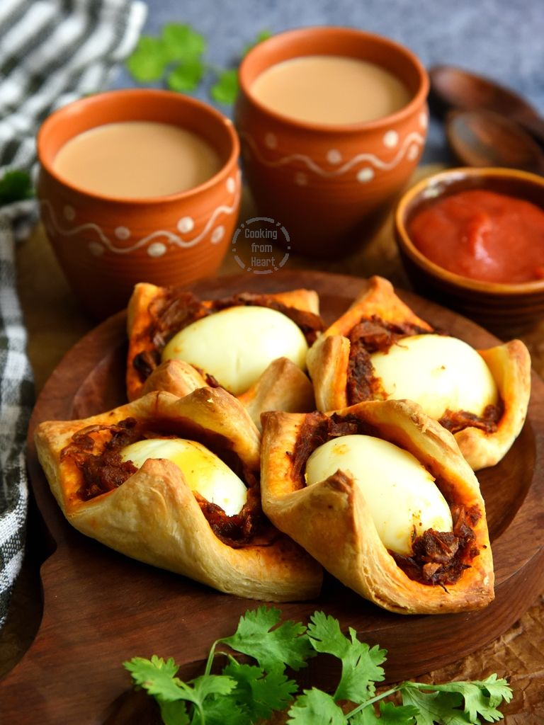 Bakery Style Egg Puffs Recipe