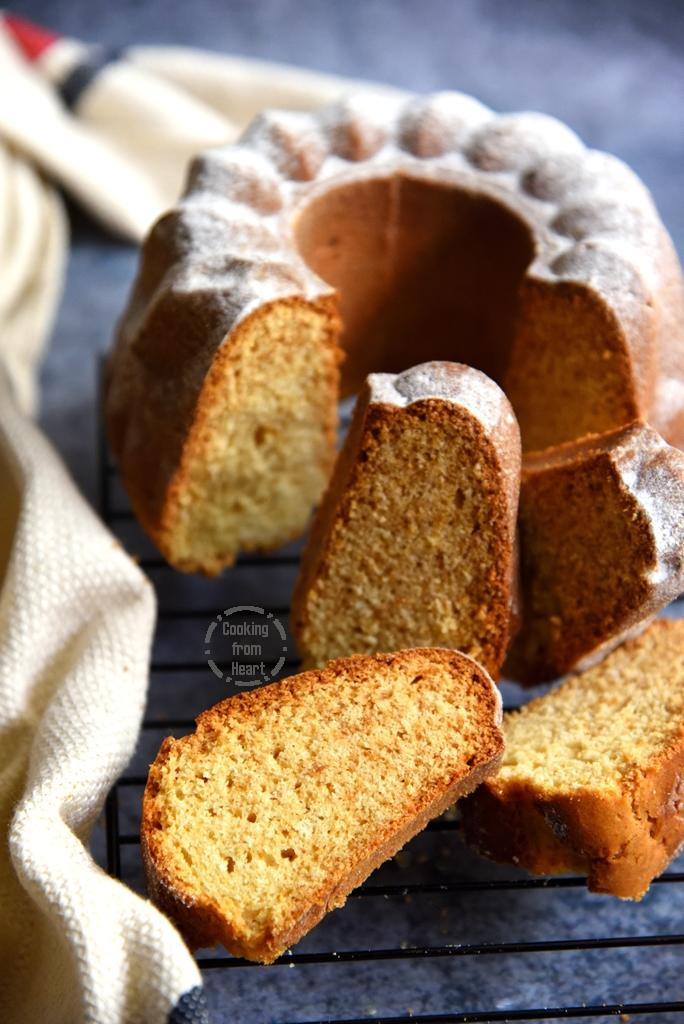 How to make Vanilla Pound Cake