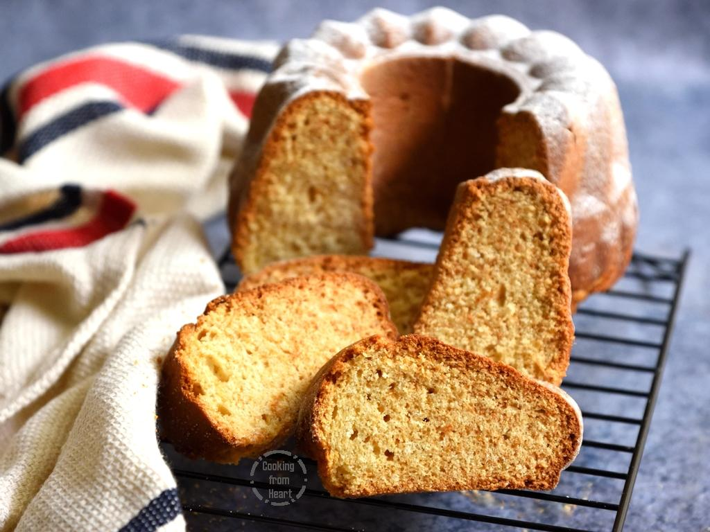 Eggfree Vanilla Pound Cake Recipe