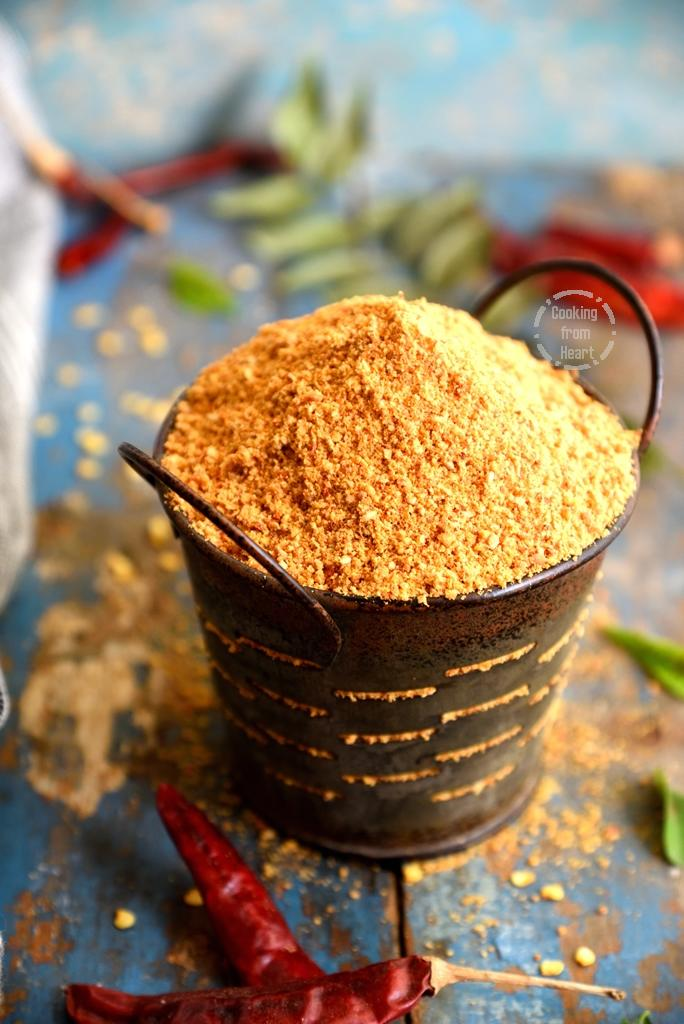 How to make traditional Idli Podi