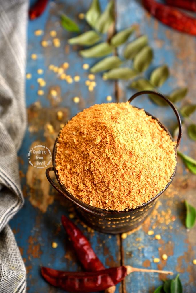 Easy Idli Podi Recipe