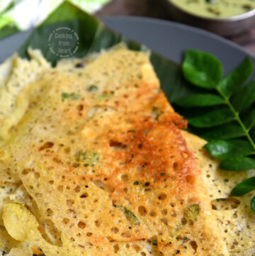 How to make Wheat Rava Dosa