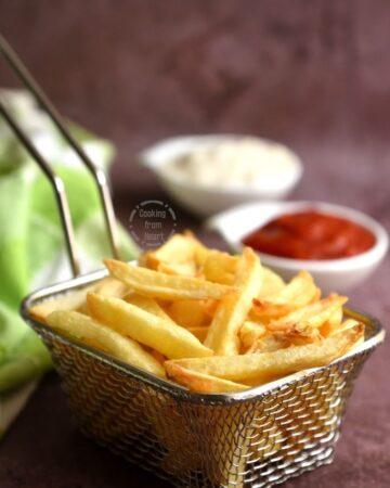 Air Fryer French Fries Recipe