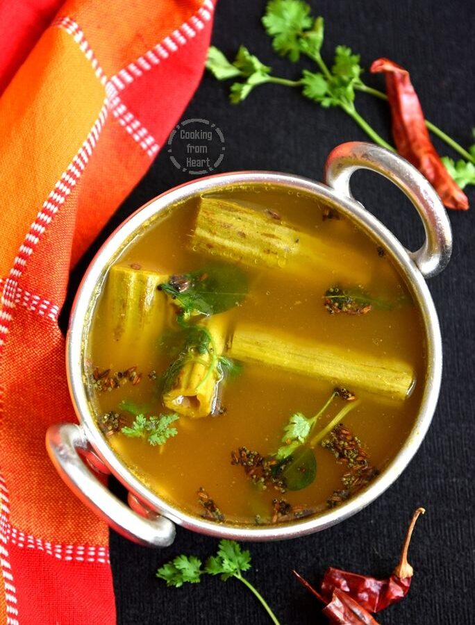 How to make Drumstick Rasam