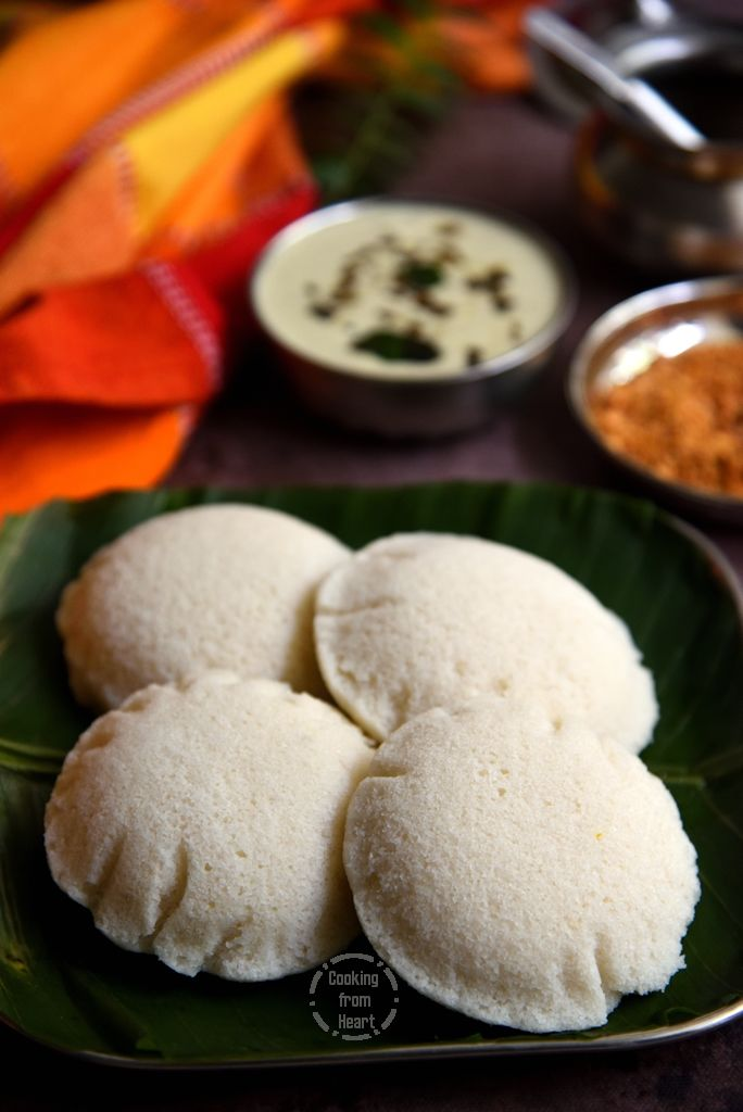 Idli Batter using Idli Rava