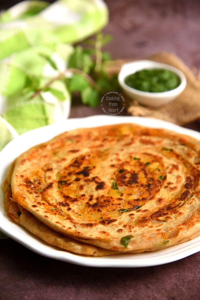 How to make Aloo Paneer Laccha Paratha