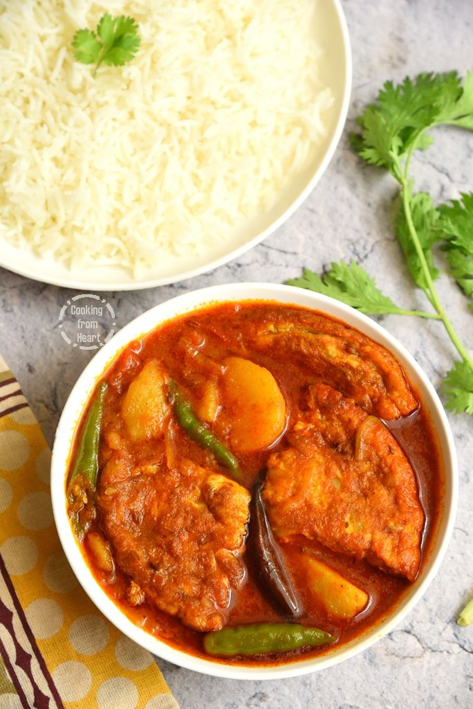 Bengali Egg Omelette Curry