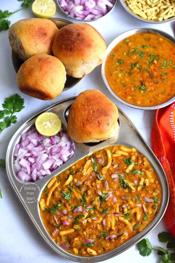 Healthy Misal Pav Recipe