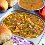 Moong Sprouts Misal Pav
