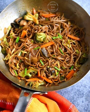 Vegetable Yakisoba Recipe