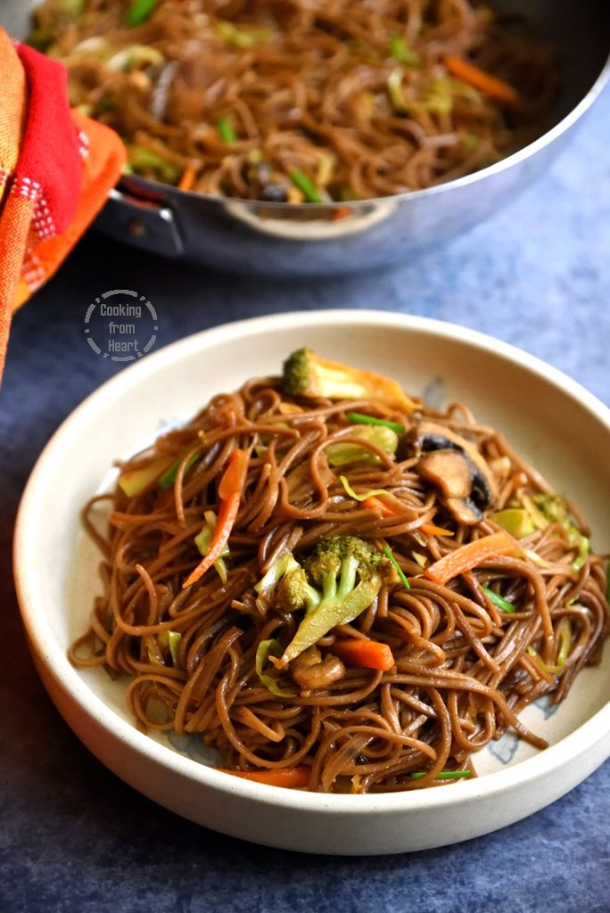 How to make Vegetable Yakisoba