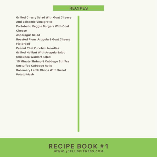Recipe Book #1 3