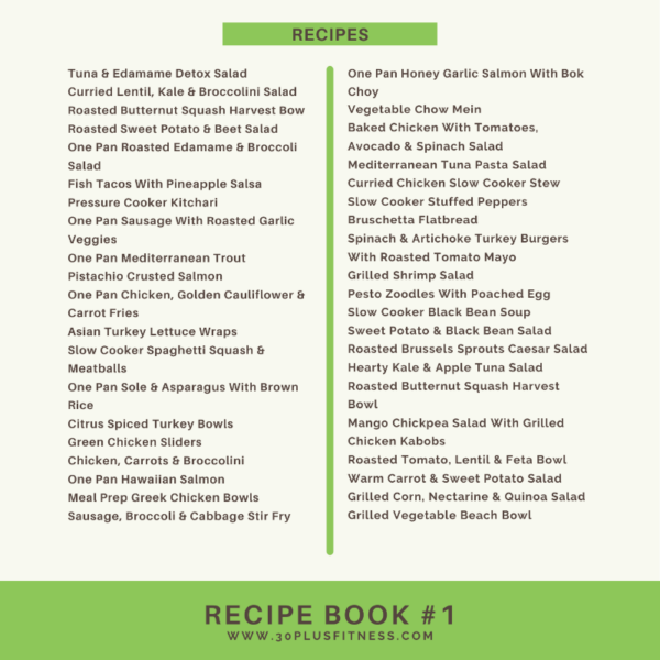 Recipe Book #1 2