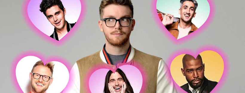 """Queer Eye: A love letter. """"Can you believe?!"""""""