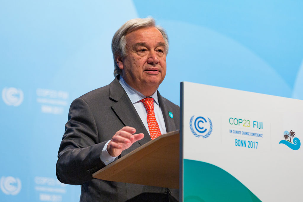For Earth Day, U.N. chief urges 'green recovery' in response to coronavirus