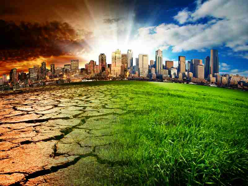 Public want radical response to climate change with same urgency as coronavirus, poll finds