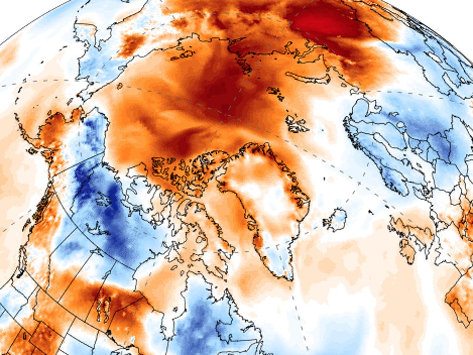 Climate crisis: Arctic temperatures 'break records', as ice melting season starts early