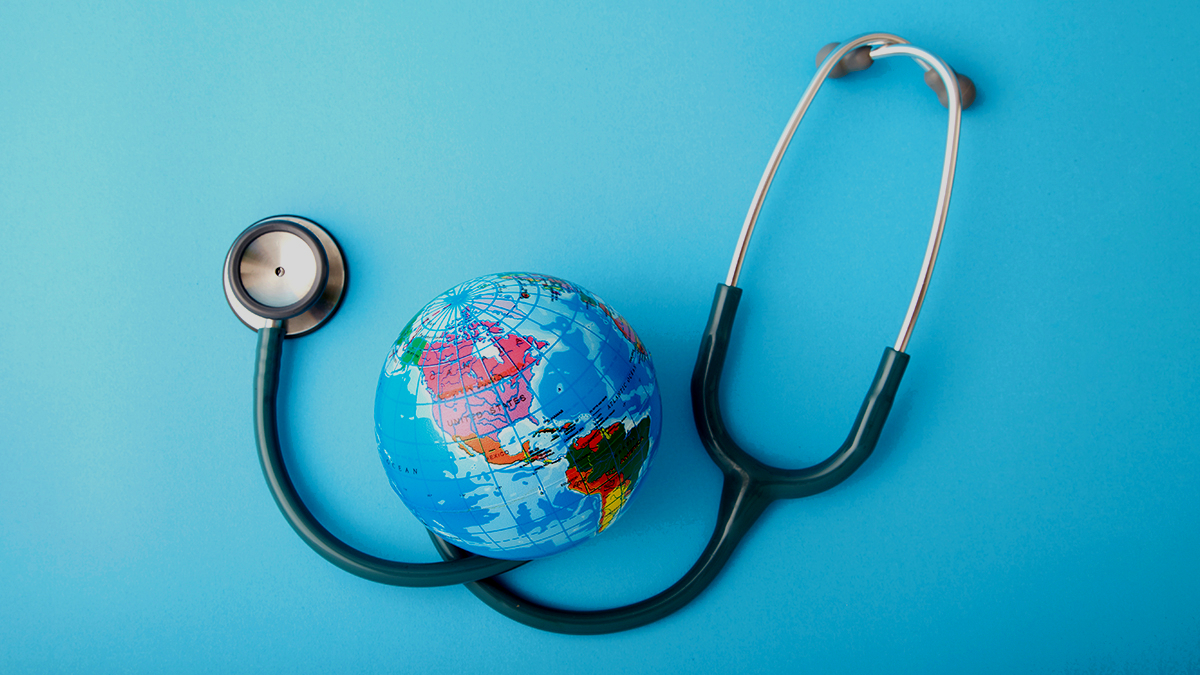 Health care is responsible for 4.4% of net global emissions
