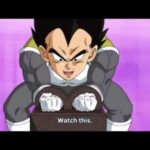 Vegeta_lifting_weight_on_Beerus_planet_as_part_of_Whis's_training