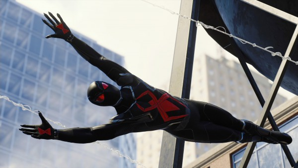 Spide-Man end story dark suit ps4