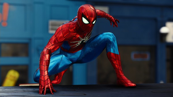 Spider Armor mark four ps4 suit