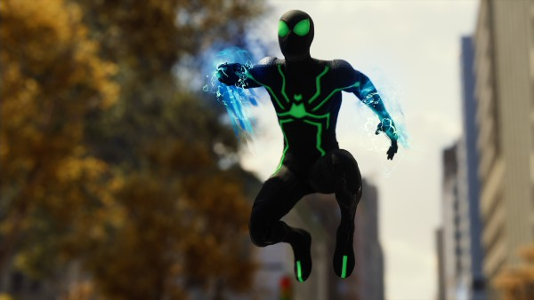Spider-Man Stealth ps4 suit