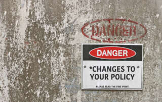 Changes to Insurance Policy 30th April 2021