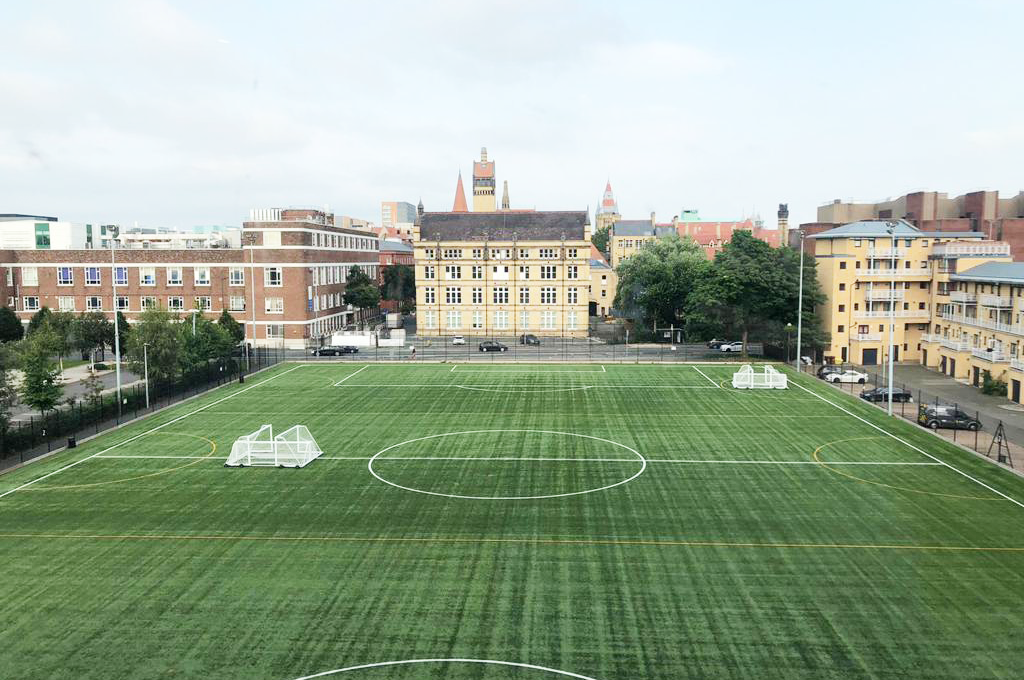 football court brighter