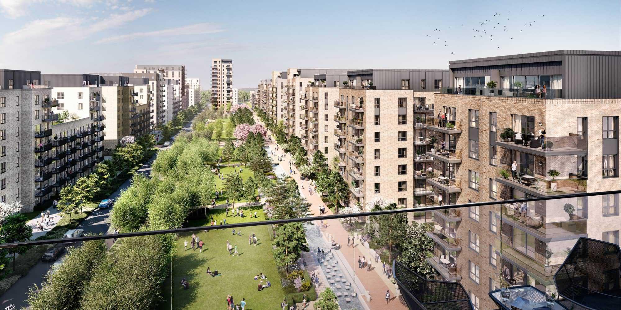 The Green Quarter   London Zone 4