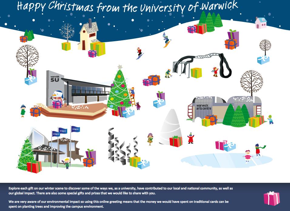 University of Warwick Christmas Greeting