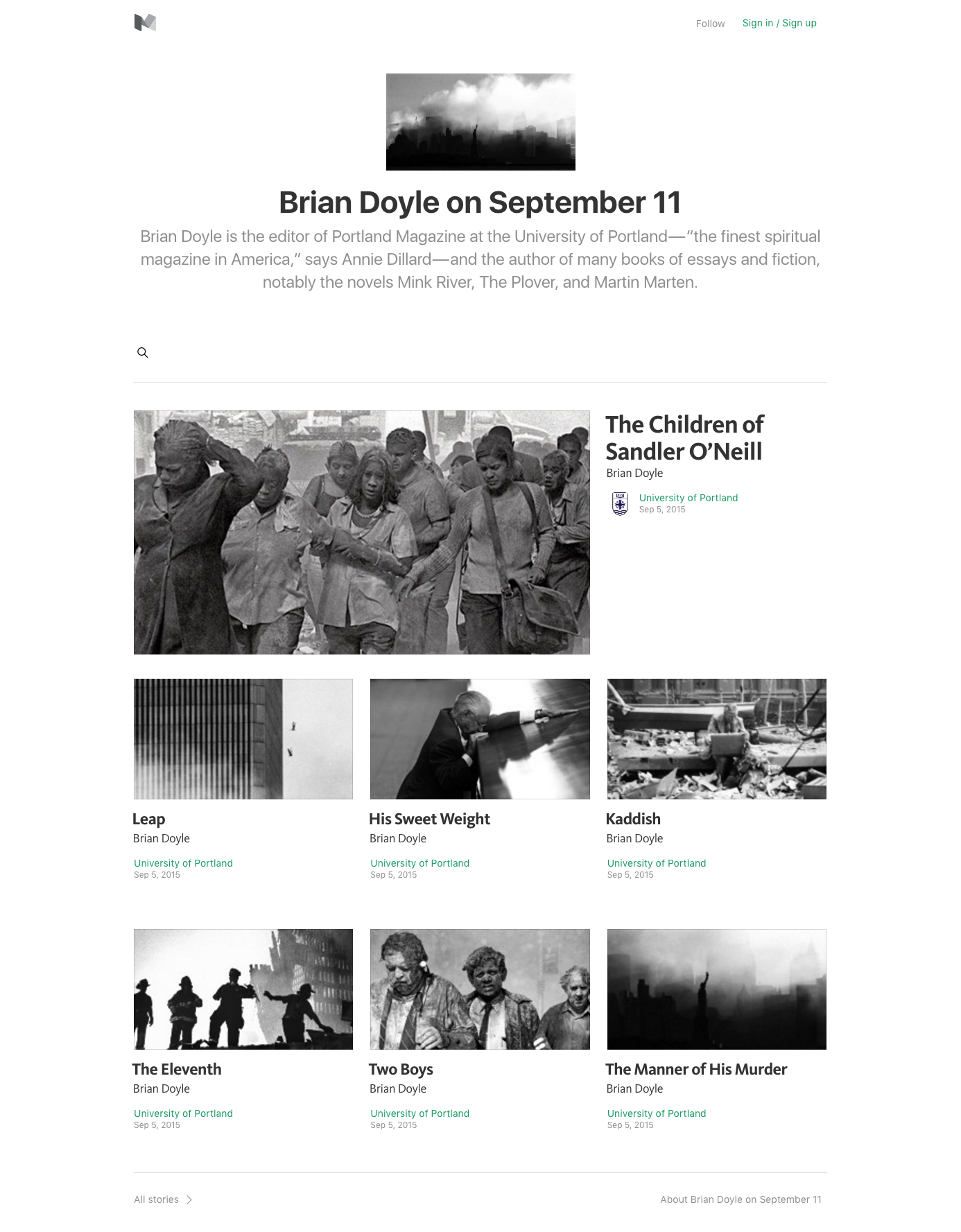 Portland - Briand Doyle on September 11