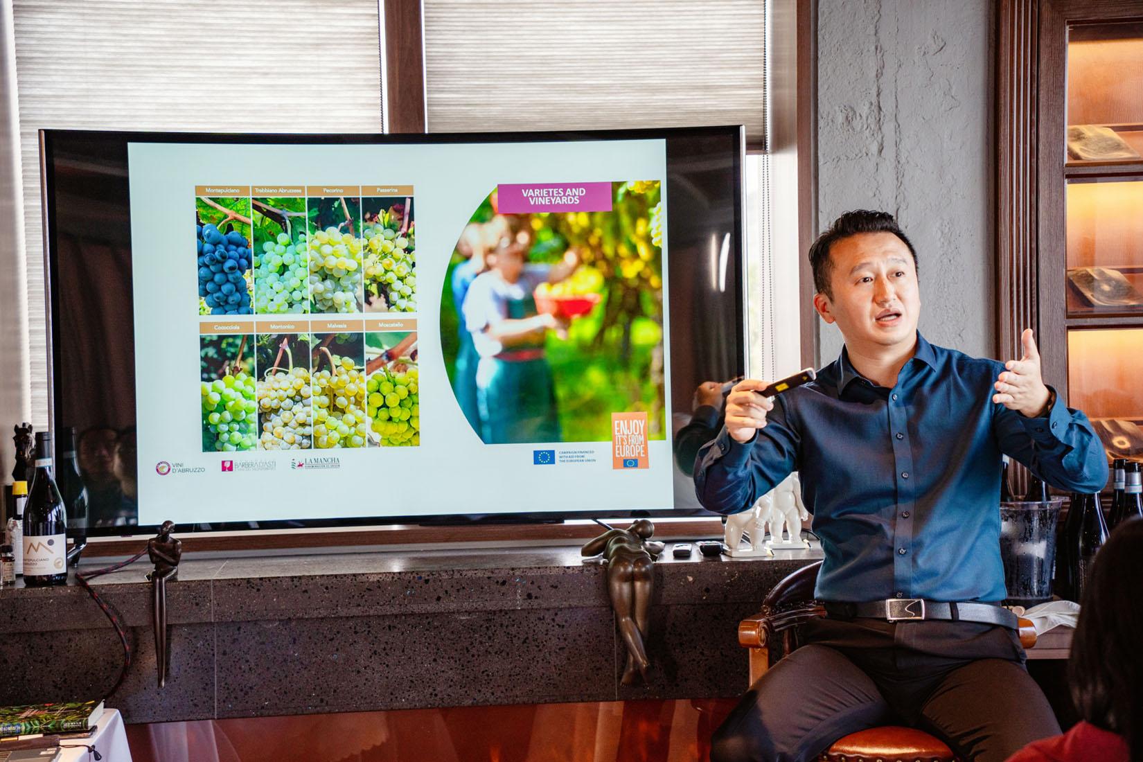 European Sustainable Wines Tasting Event in Xiamen