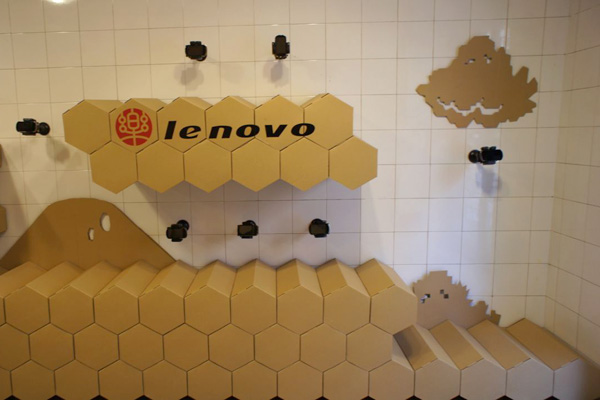 Lenovo showcase at CDM 2011