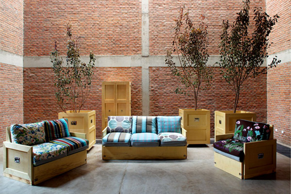 A glimpse of the interiors at <em>The House</em> with Naihan LI's