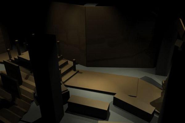 <em>Seduction</em> exhibition design visualization
