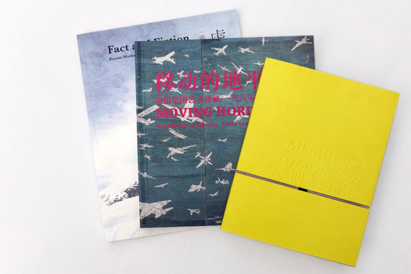 collection of three catalogues for UBS touring exhibition
