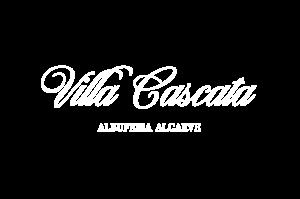 Villa Cascata Logo (white no motif)